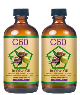 Olive C60 - 2 bottles...