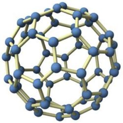 Carbon 60 Fullerene Molecule